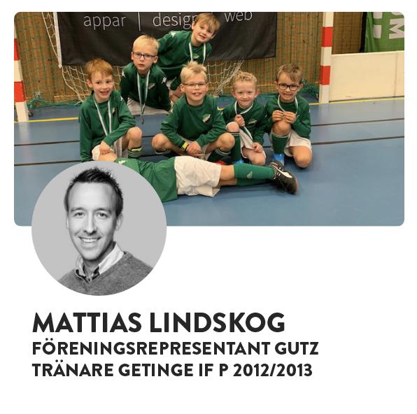 MATTIAS LINDSKOG - GUTZ