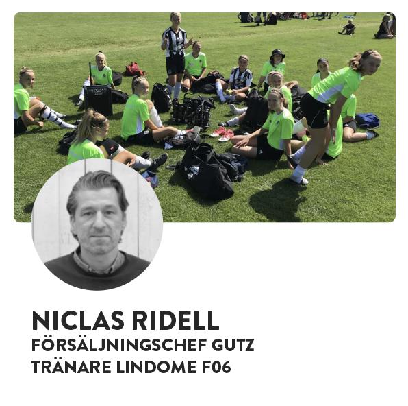 NICLAS RIDELL - GUTZ